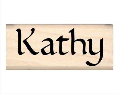 Kathy Name Rubber Stamp