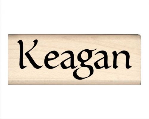 Keagan Name Rubber Stamp