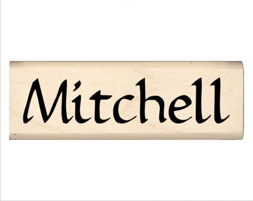 Mitchell Name Rubber Stamp