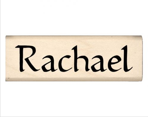Rachael Name Rubber Stamp