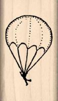 Parachute Rubber Stamp