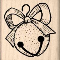 Jingle Bell Rubber Stamp