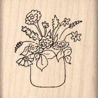 Herbs Rubber Stamp