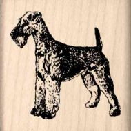 Airedale Rubber Stamp