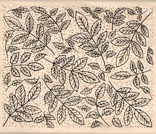 Background Pattern Rubber Stamp