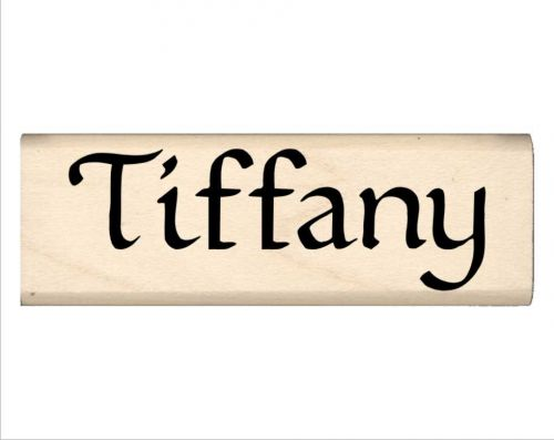 Tiffany Name Rubber Stamp