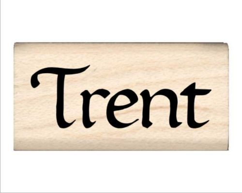 Trent Name Rubber Stamp