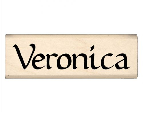 Veronica Name Rubber Stamp